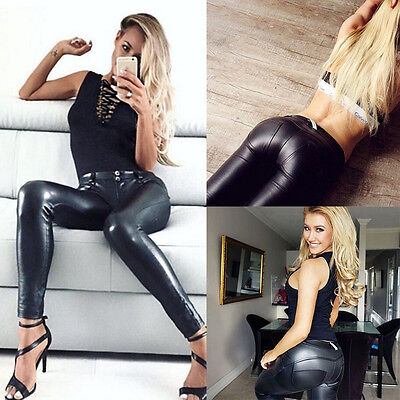 Women Casual Jeans Skinny Leggings Stretchy Pants High Waist Pencil Jeggings