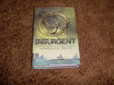 Insurgent Second Book In The Divergent Series By Veronica Roth Teen Young Adult