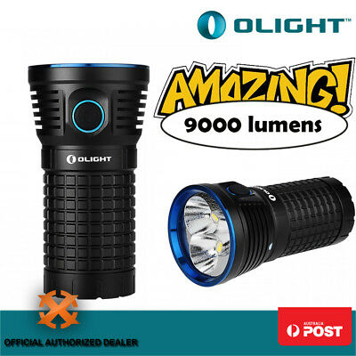 2016 New Olight X7 Marauder LED 9000Lm Hunting Camping Shooting Flashlight Torch