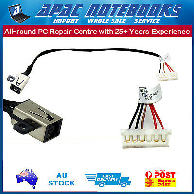 DC Power Input Jack with Cable For Dell Inspiron 15-3000 15-3558 Series