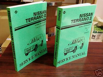 Nissan Terrano II Workshop Manual & Ford Maverick Handbook petrol diesel