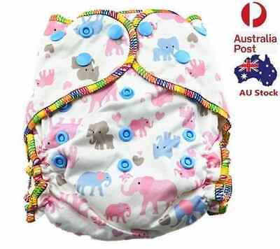 Top Quality Pink Thick Modern Cloth Nappy Waterproof Baby Girl Girly Nappies