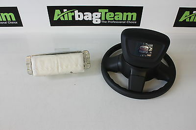 Seat Ibiza Airbag 2009 - 2014 Driver And Passenger Airbag Set Pair