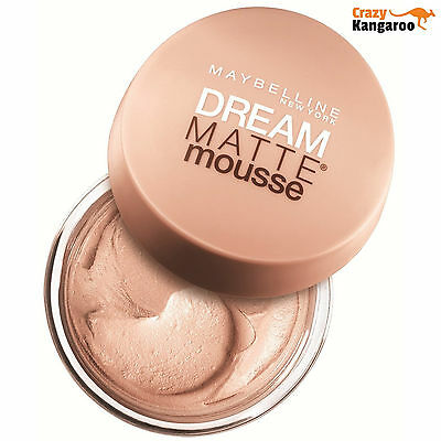 Maybelline Dream Matte Mousse Foundation 18ml - **Choose Your Shade**