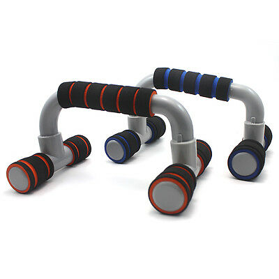 2x Home Exercise Equipment Arms Push Up Stands Fitness Gym Training Handle Bar