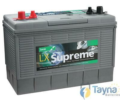 LUCAS LX31MF 110ah MARINE Batterie ULTRA PROFONDE CYCLE