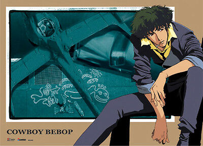 **License Poster** Cowboy Bebop Spike & Swordfish II Wallscroll #60930