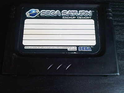 x 1 Sega Saturn Official BACK UP MEMORY CARD