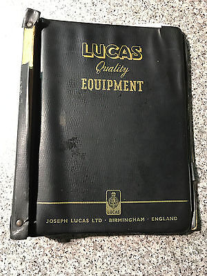 CAV Lucas Girling (1967-1969) Equipment and Service Parts Folder Catalogues