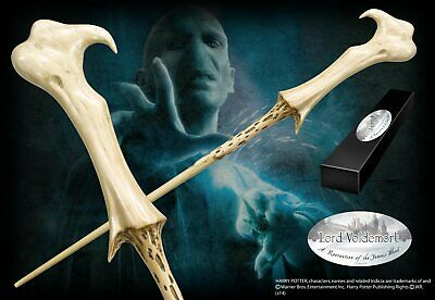 Harry Potter : LORD VOLDEMORT CHARACTER WAND from The Noble Collection NOB8403