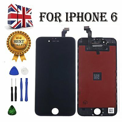 For Black iPhone 6G LCD Touch Screen Display Digitizer Assembly Replacement BLAC