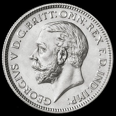 1932 George V Silver Sixpence – Scarce – UNC