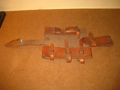 Ww1 Portugal Portuguese Cep 1916 Infantry Trench Hoe Pick Leather Cover Pouch