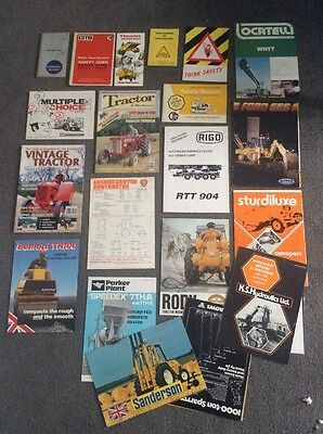 Various Plant / Machinery Product Brochures Collection