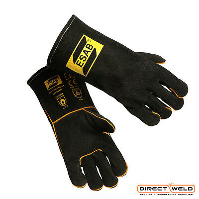 ESAB Heavy Duty Black Mig Welding Gloves - Size 9/L
