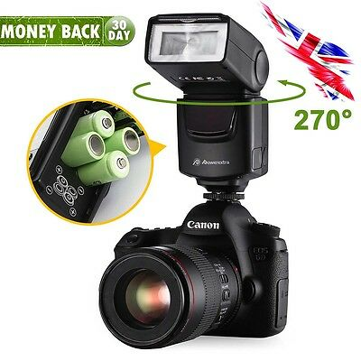 DF-400 Flash Gun Speedlite for Nikon & Canon DSLR Camera Pentax Fujifilm Olympus