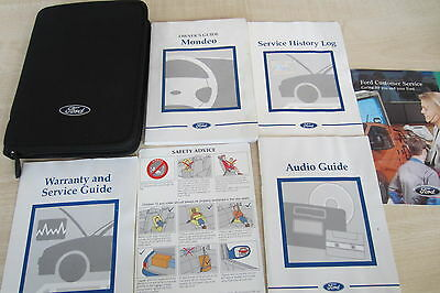 FORD MONDEO 2000-2007 Owners Manual Handbook & SERVICE BOOK with Wallet Pack