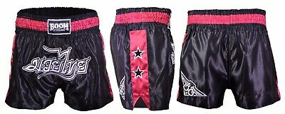 Ladies Muay Thai Fight Shorts MMA Kick Boxing Martial Arts Womens Boxing Gear