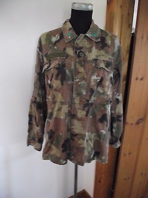 Rare Italian San Marco camouflage Marines Special Forces shirt