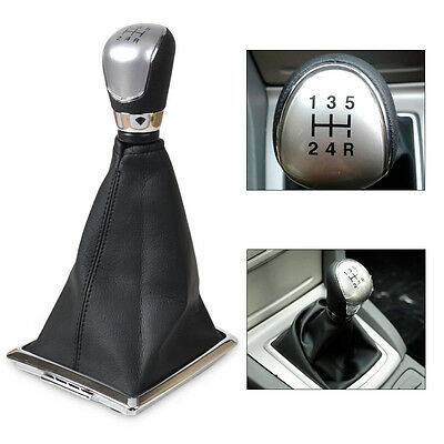 5 Speed Gear Shift Knob Gaitor Boot Cover for 2005-08, 2010-12 Ford Focus New