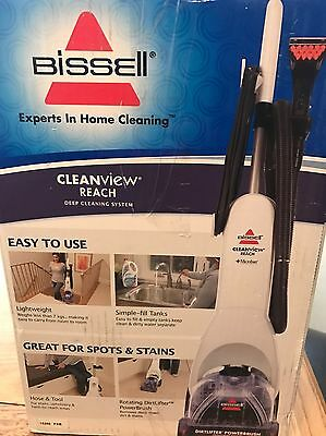 BISSELL 37Y8E Cleanview Reach Carpet Cleaner  New