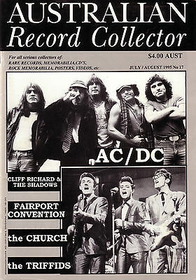 Australian Record Collector Issue 17 Ac/dc / Church / Triffids  1995 83 Pages