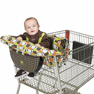Shopping Grocery Cart Cover For Baby Seat Protector High Toddler Chair Infant
