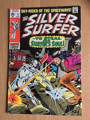 Silver Surfer Vol. 1 (1968-1970) #9 VG+