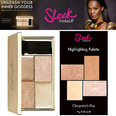 Sleek MakeUP - Cleopatra Highlighting Palette Shimmer Poudre Cream Highlighter