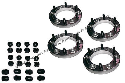 Bulldog Mitsubishi L200 & Challenger Wheel Spacers 4x30mm Japanese 6 Stud Hilux