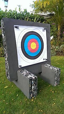 60x60x8cm Foam Archery Target Boss Butt Faces Recurve, Compound Bow (All in One)