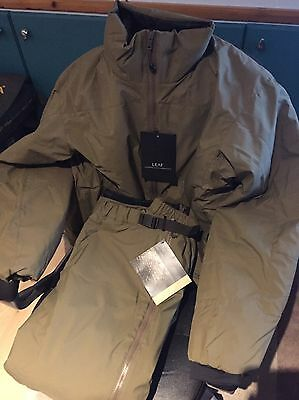 Arcteryx LEAF Fusion Windstopper Jacket, And Trousers Set , SMALL, Croc,