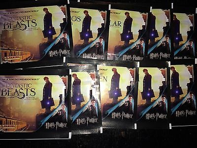 40 Packets Packs of Fantastic Beasts And Where To Find Them Stickers Panini