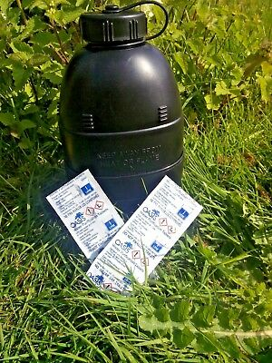 OASIS WATER PURIFICATION TABLETS BRITISH ARMY NATO 1L MoD 17MG NCO x10 UK Issue