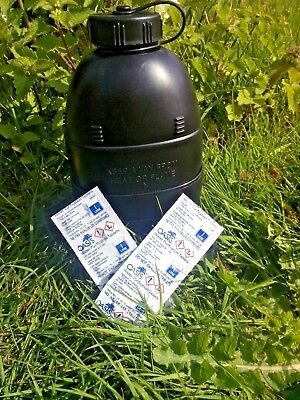 OASIS WATER PURIFICATION TABLETS BRITISH ARMY NATO 1Liter MoD 17MG x10 UK Issue