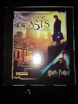 1 Box of Fantastic Beasts And Where To Find Them Stickers Harry Potter Panini