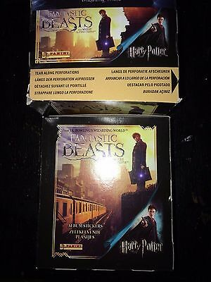 2 Boxes of Fantastic Beasts And Where To Find Them Stickers Harry Potter Panini