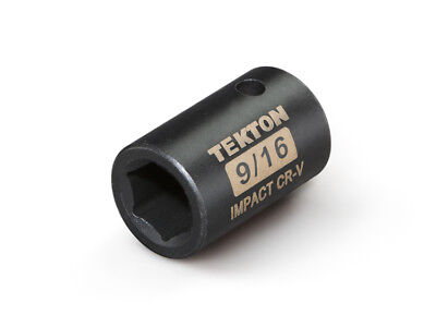 TEKTON 47752 - 1/2 in. Drive Shallow Impact Socket (6-Point) 9/16 in.