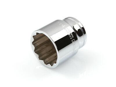 TEKTON 14224 - 1/2 in. Drive Shallow Socket (12-point) 1-1/4 in.