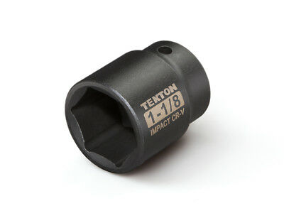 TEKTON 47761 - 1/2 in. Drive Shallow Impact Socket (6-Point) 1-1/8 in.