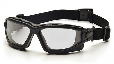 Pyramex I-Force Slim Dual Pane Anti Fog Safety Goggle, workwear, airsoft, paint