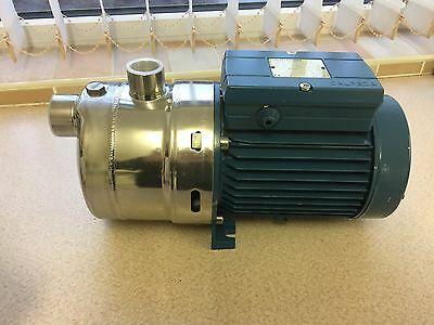 CALPEDA Stainless Steel MXHM203 Horizontal Booster Pump