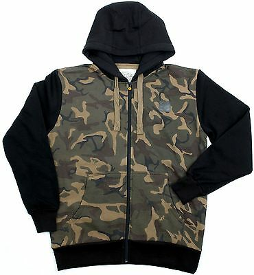 Fox Chunk Black & Camo Body Hoody - All Sizes