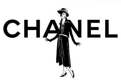 Coco Chanel lady picture  - quality glossy A4 print