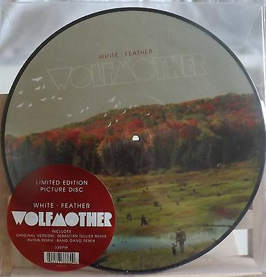 "Wolfmother White Feather 12"" Picture Disc New 2010"