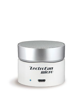 Lectrofan Micro Wireless - White Noise / Fan Sound Machine & Bluetooth - White