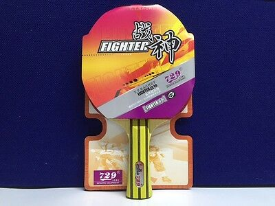 729 Fighter V Table Tennis Bat - Special Price - 50% Off - Only £23.99