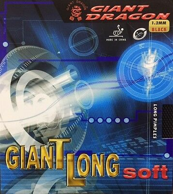 Giant Dragon Long Soft Table Tennis Rubber - Amazing Offer!