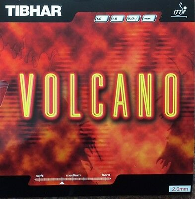 Tibhar Volcano Table Tennis Rubbers