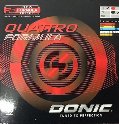 Donic Quattro Formula Table Tennis Rubber